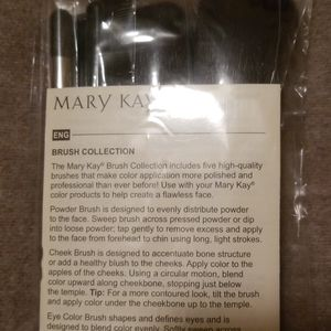 Mary Kay Makeup - Mary Kay brush set & bag